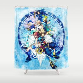 A Kingdom of Hearts Shower Curtain