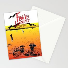 Fear and Loathing in Las Vegas- Desert Stationery Cards