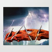 channel Canvas Prints featuring Channel by Joellart