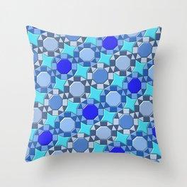 Geometrix 168 Throw Pillow