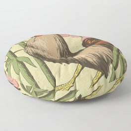 BASAN (fire-breathing rooster) Floor Pillow