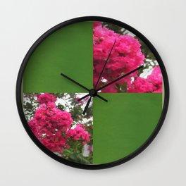 Crape Myrtle Blank Q5F0 Wall Clock