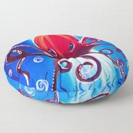 Dancing Octopus Floor Pillow
