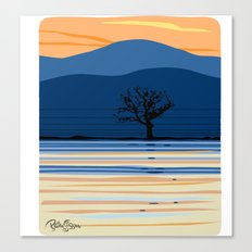 Lonely Oak Canvas Print
