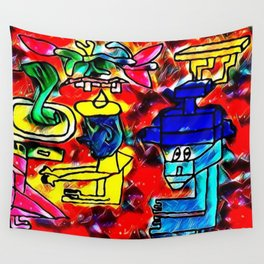 patients Wall Tapestry