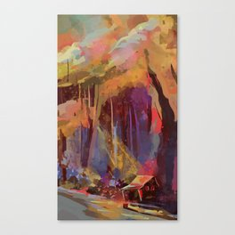 Hobnob Canvas Print