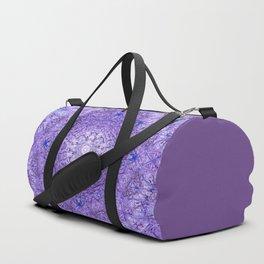 Ultra-violet Mandala Duffle Bag