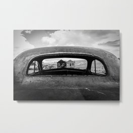 poin of vew Metal Print