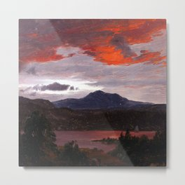 Frederic Edwin Church Turner Pond Metal Print