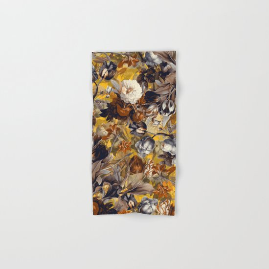 SUMMER BOTANICAL VII Hand & Bath Towel