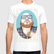 Action Bronson X-LARGE White Mens Fitted Tee