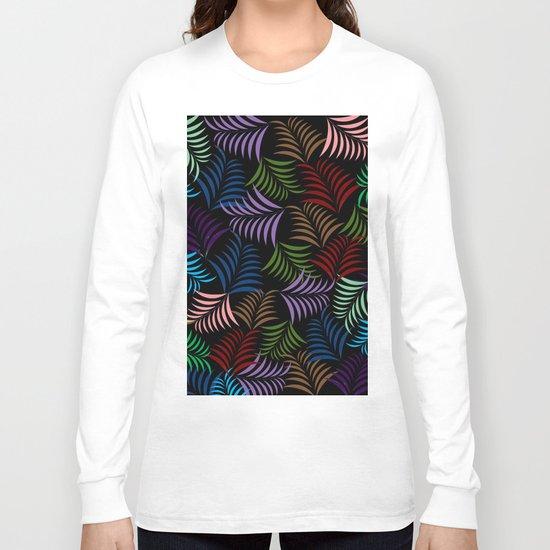 COLOR LEAF Long Sleeve T-shirt