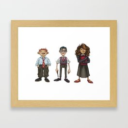 TRIO Framed Art Print