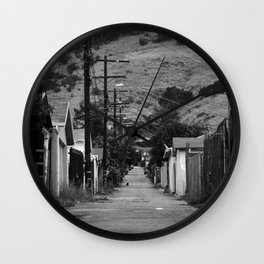 Cypress Park Alley Wall Clock