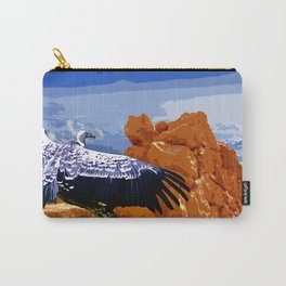 Vulture Spirit Guide Carry-All Pouch