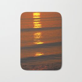 Coastal Abstract Bath Mat