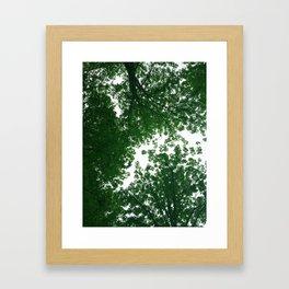 Green Mind, Tall Sky Framed Art Print