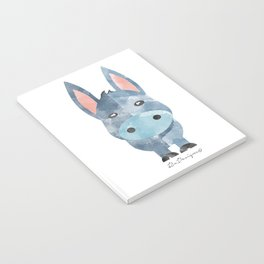 Water Colour Baby Donkey Notebook