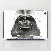 darth vader iPad Cases featuring Darth Vader by Olechka