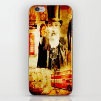 england iPhone & iPod Skins featuring England Vintage  by Ganech joe