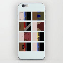 DS9  Characters - Minimalist Star Trek DS9 Deep Space Nine - Defiant - startrek - Trektangles iPhone Skin