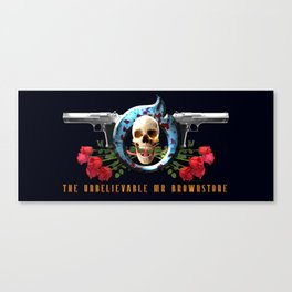 The Unbelievable Mr Brownstone Canvas Print
