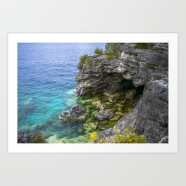 The Grotto Art Print