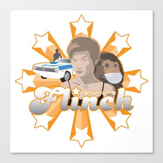 Flinch projet 01 Canvas Print