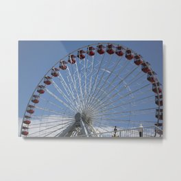 THE FAIREST WHEEL OF THEM ALL Metal Print