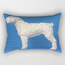 Daisy Dog Rectangular Pillow