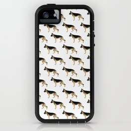 German Shepherd: Tan & Black iPhone Case