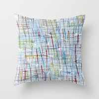 50s Throw Pillows featuring 50s inspired by Pagan Sovereign Studios