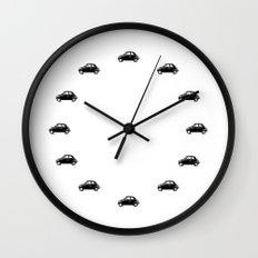 dream car clock -white Wall Clock