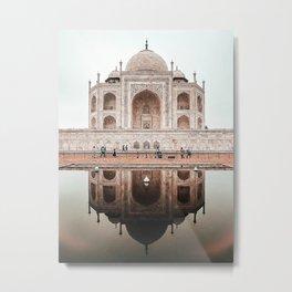 Taj Mahal - architecture photography Metal Print