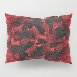 Ravens and Crows Pillow Sham