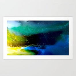 Planet Venestia Art Print