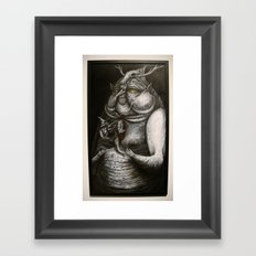 absu Framed Art Print