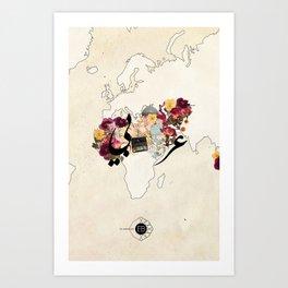 عربي Art Print