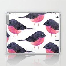 Pink Robin Laptop & iPad Skin