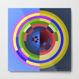 Polar Coordinates Abstract 1 Metal Print