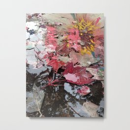 NEW PINK AUTUMN Metal Print