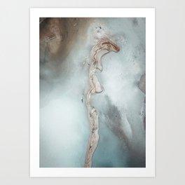 Geothermal Waters Art Print