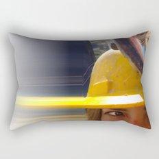 Shifty Work Rectangular Pillow