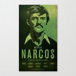 Narcos Javier Pena Canvas Print
