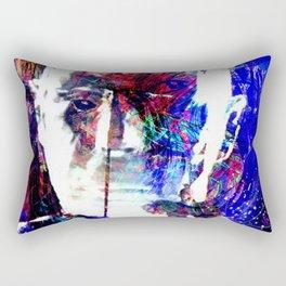 split soul Rectangular Pillow