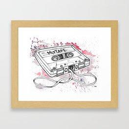 Mixtape (Splash Music) Framed Art Print