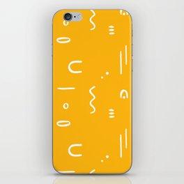 Peppy (sunshine yellow) iPhone Skin