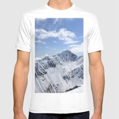 Lowell Point Mens Fitted Tee White MEDIUM