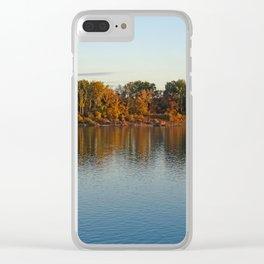 river danube Clear iPhone Case