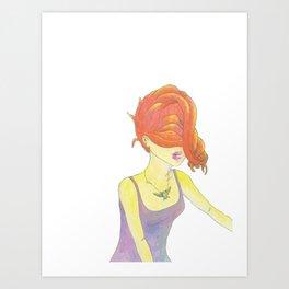 Rebirth (Illustration) Art Print
